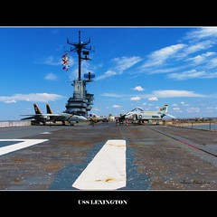 USS LEXINGTON: YOU COULD PARK 1000 CARS ON FLIGHT DECK (ANVAR - RUSSIANTEXAN ) Tags: corpuschristi navy uss flightdeck russiantexan marineaviation anvarkhodzhaev russiantexas svetan svetanphotography