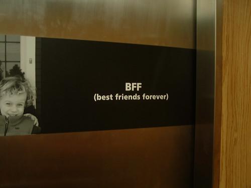 BFF elevator