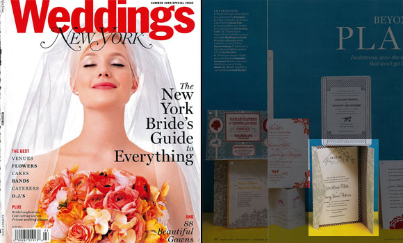 Smock in NY Magazine Weddings