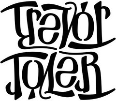 """""""Trevor"""" & """"Tyler"""" Ambigram"""