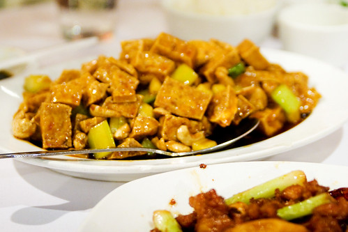 bean curd with cashew