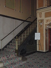 Lobby Staircase (Carrie and Charles) Tags: wedding genesee venues genessetheatre