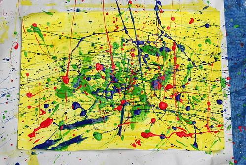 Jackson Pollock lesson 2