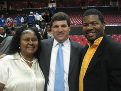 Cheryl Landis, Senator Peters and Tony Perez