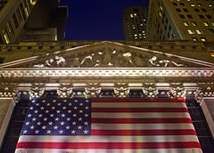 New York Stock Exchange (lachance) Tags: nyc newyorkcity newyork capital newworldorder stocks wallstreet capitalism economics greed capitalist nyse finance newyorkstockexchange investments financialsector americanempire financialsystem bigbuisiness federaldeficit collatoralizeddebitobligations mg9072abcjpg
