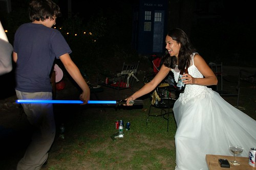 Light-saber bride