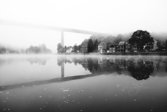 Dinant dans ze mist (ingephotography) Tags: ardennes dinant