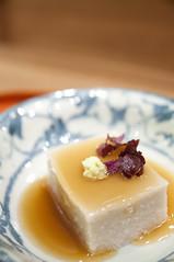 れんこんの胡麻豆腐, 紫野和久傳 むしやしない ミッドランドスクエア店, 名古屋