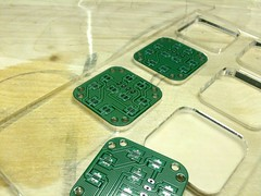 Lasered jig for stenciling pcbs