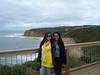 Stopping off at Bells beach