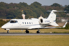 LZ-BVE - 60-329 - Private - Learjet 60 - Luton - 091013 - Steven Gray - IMG_2371