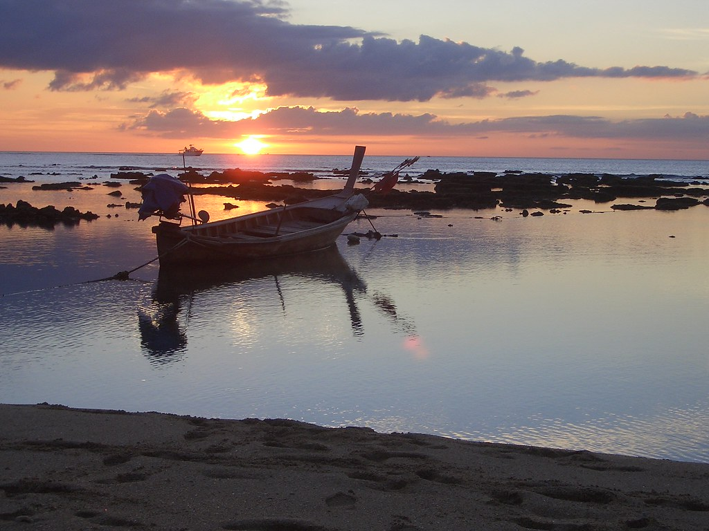 Klong Khong Beach sunset, Koh Lanta