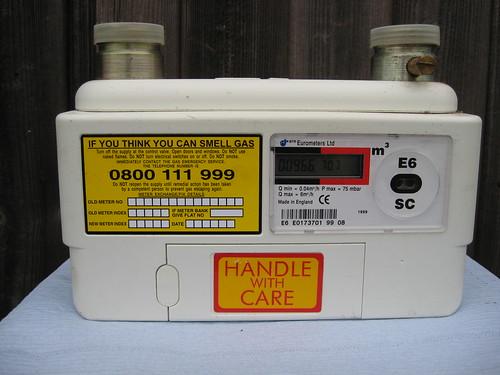Digital Gas Meter : Help digital gas meter reading is blank