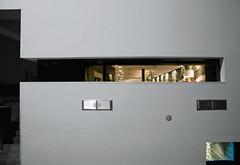 ▔▗ (Toni_V) Tags: abstract building architecture night facade schweiz switzerland tessin ascona ticino suisse minimalism minimalistic 2009 colorkey selectivecolors toniv sevenrestaurant dsc4748 091024