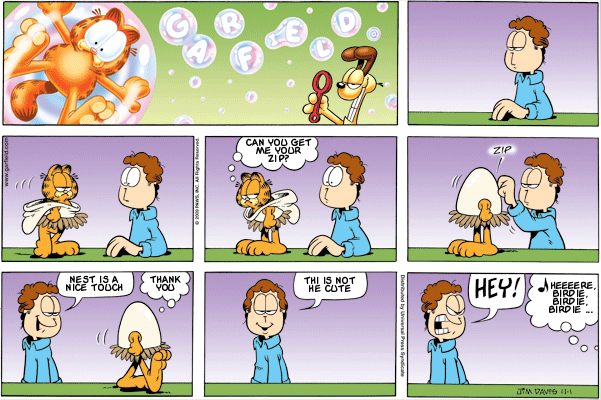 Garfield: Lost in Translation, November 1, 2009