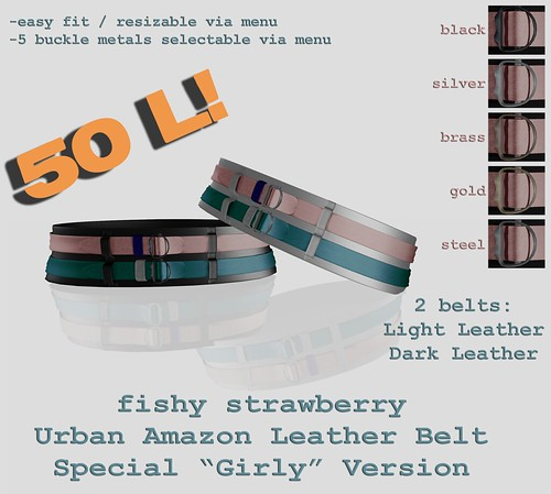 Urban Amazon Belt - Girly