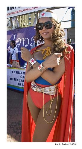 Transsexual wonder woman