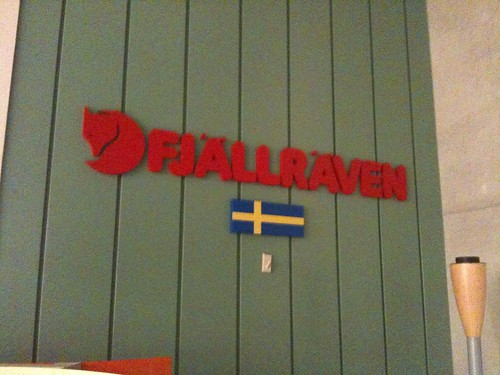 Fjallraven store in Tokyo