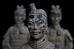 Terra Cotta Warriors (Marcellina.) Tags: china history face washingtondc ancient tomb terracottawarriors clay soldiers dcist figures artifacts treasures nationalgeographic guardians soldados replicas terracottaarmy qinshihuangdi terracottawarriorsguardiansofchinasfirstemperor chinasfirstemperor
