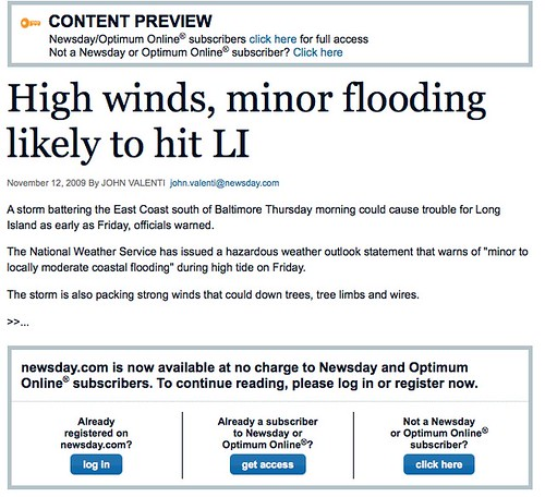 High winds, minor flooding likely to hit LI