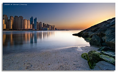 Last Light on JBR (DanielKHC) Tags: sunset high nikon dubai dynamic uae range dri hdr d300 jbr danielcheong danielkhc tokina1116 gettyimagesmeandafrica1