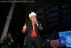 El Trono de México se Presento en Chiquimula