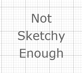 My messed-up SketchFlow font