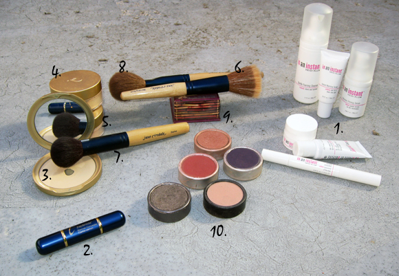 heidi-klum-skin-care-jane-iredale-stila-makeup-numbered