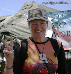 Patty Mooney at San Diego Stand Down 2009