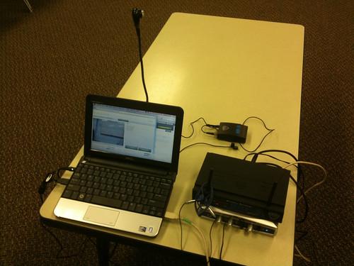 UStream setup at church