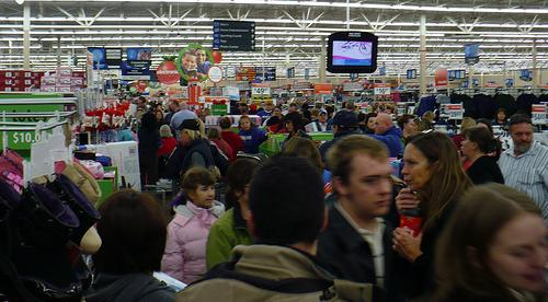 Walmart on Black Friday