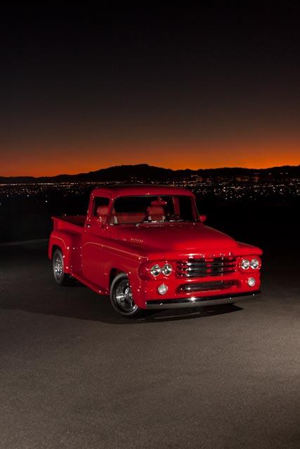 pickup 1958 hotrod dodge hemi mopar d100