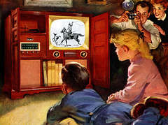 1953 - tv kids, snapshot