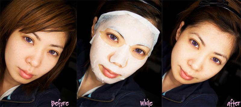 eki Lian yuan kuan whitening mask