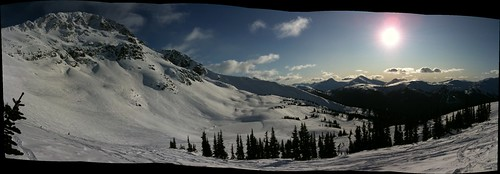 Blackcomb Today — Pano
