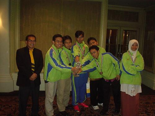 SM dan IIUM team A di GACC 2009