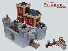 Castle Redhouse (2 Much Caffeine) Tags: castle lego moc foitsop cccvii
