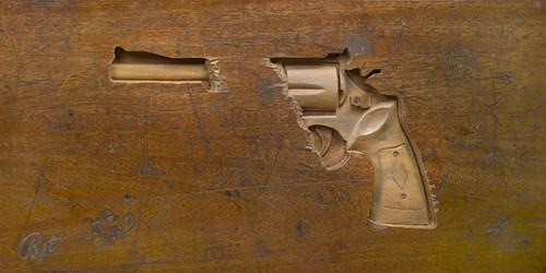 pistool schoolbank