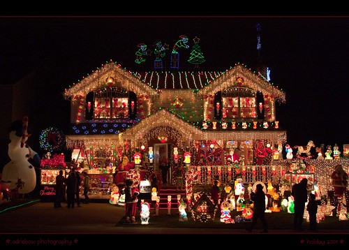 The brightest Christmas home... in spirit