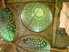 The inner face of the dome of Mohammed Ali Mosque, at the Citadel (moemoe2005) Tags: citadel egypt cairo mohammedlalimosque