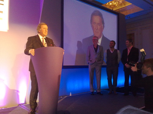 Terry Wogan in the Radio Academy Hall of Fame