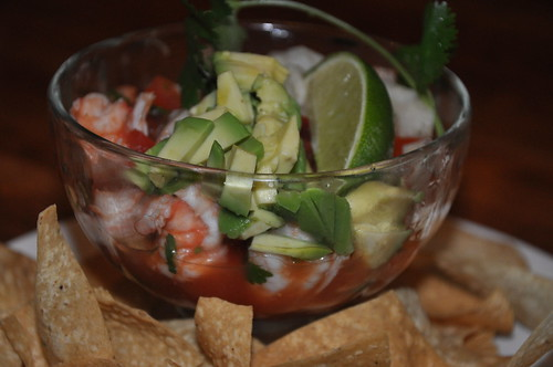 Large Ceviche with Tortilla Chips