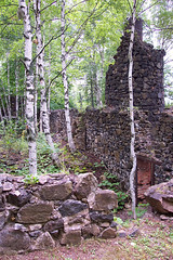 Ruins at Delaware Mine (Ford Center of the UP) Tags: building forest ruins mine michigan tourist mining copper upperpeninsula lakesuperior uppermichigan keweenaw keweenawcounty paperbirch