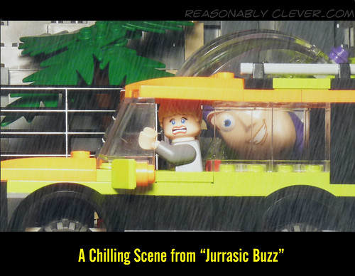 "A Chilling Scene from ""Jurassic Buzz"""