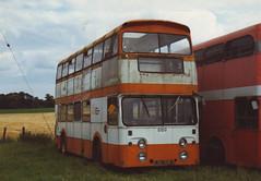 TOFTHILL,GLENCARSE LBU159E GLENCARSE 070892 (David Beardmore) Tags: oldham leyland berrypicker eastlancs atlantean nonpsv lbu159e