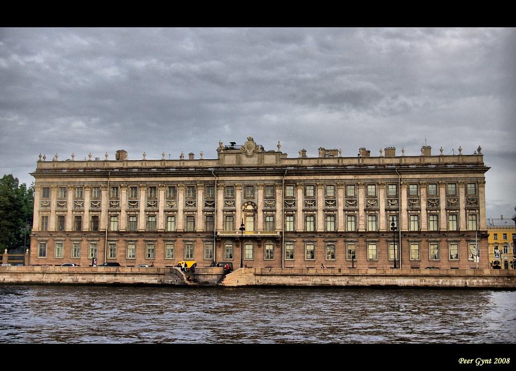 Marble Palace. Saint-Petersburg.