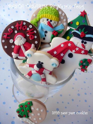 2010 NEW YEAR (CHRISTMAS) COOKIES