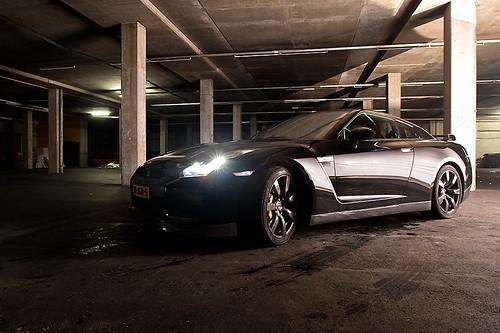 Nissan Gtr R35 Black Edition. Nissan GT-R R35 Black Edition