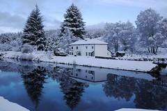 Caledonian Canal, Scotland (BrianReid) Tags: winter snow lumix scotland canal fort lock panasonic pancake 20mm augustus caledonian f17 gf1 cullochy