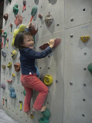 katharine娃娃 拍攝的 14小小猴子樂攀岩。